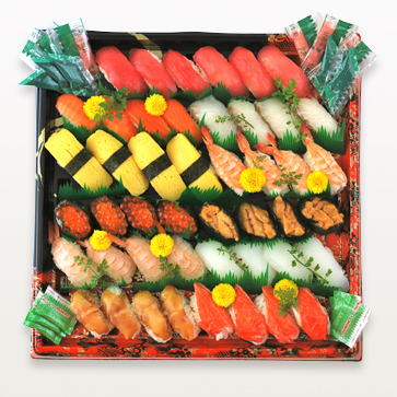 にぎり寿司セットL