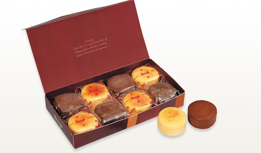 半熟ショコラ&チーズセット_L