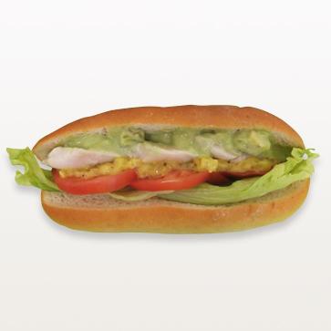 サラダチキンとアボカドの低糖質サンド_S
