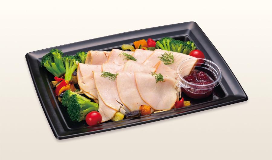 ターキーハムとグリル野菜の盛合せ_L